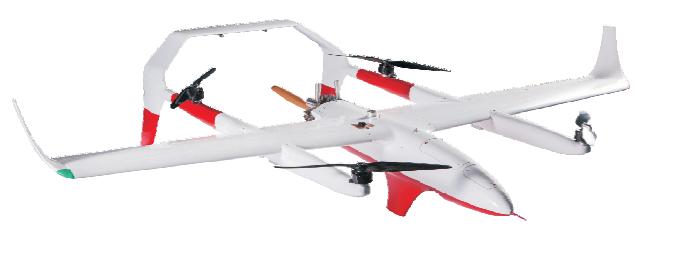 吉鹰FY-31复合翼垂直起降无人机