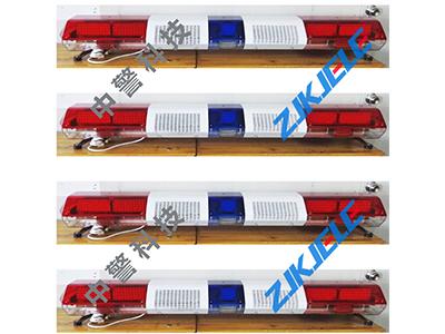 工字型长排警灯 1.4米长排警示灯 LED爆闪灯 红蓝工字警灯