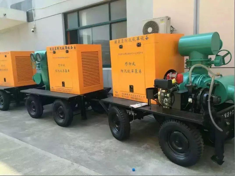 关于农田灌溉设备《冀虹WX-型移动式灌溉抗旱泵车》