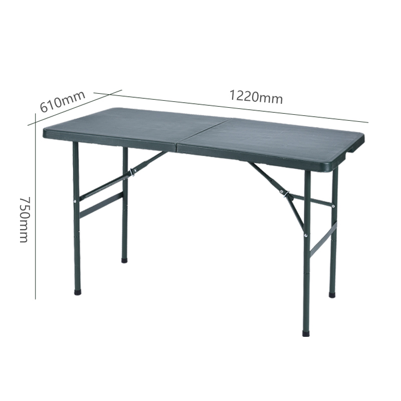 (B款)专业生产加粗加固加厚可折叠野战作业桌椅套装