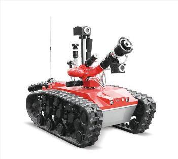弘桥智能消防机器人