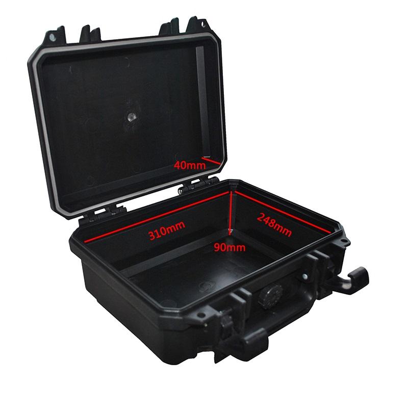 塑料安全防护箱精密仪器箱相机摄影器材箱防水防潮箱 万得保 JP-2