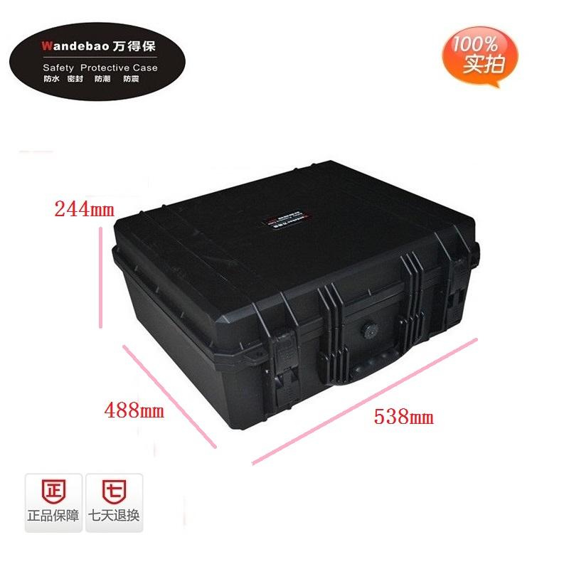 便携式密封箱仪器箱防水箱设备箱防震器材防水工具箱 万得保 JP-7