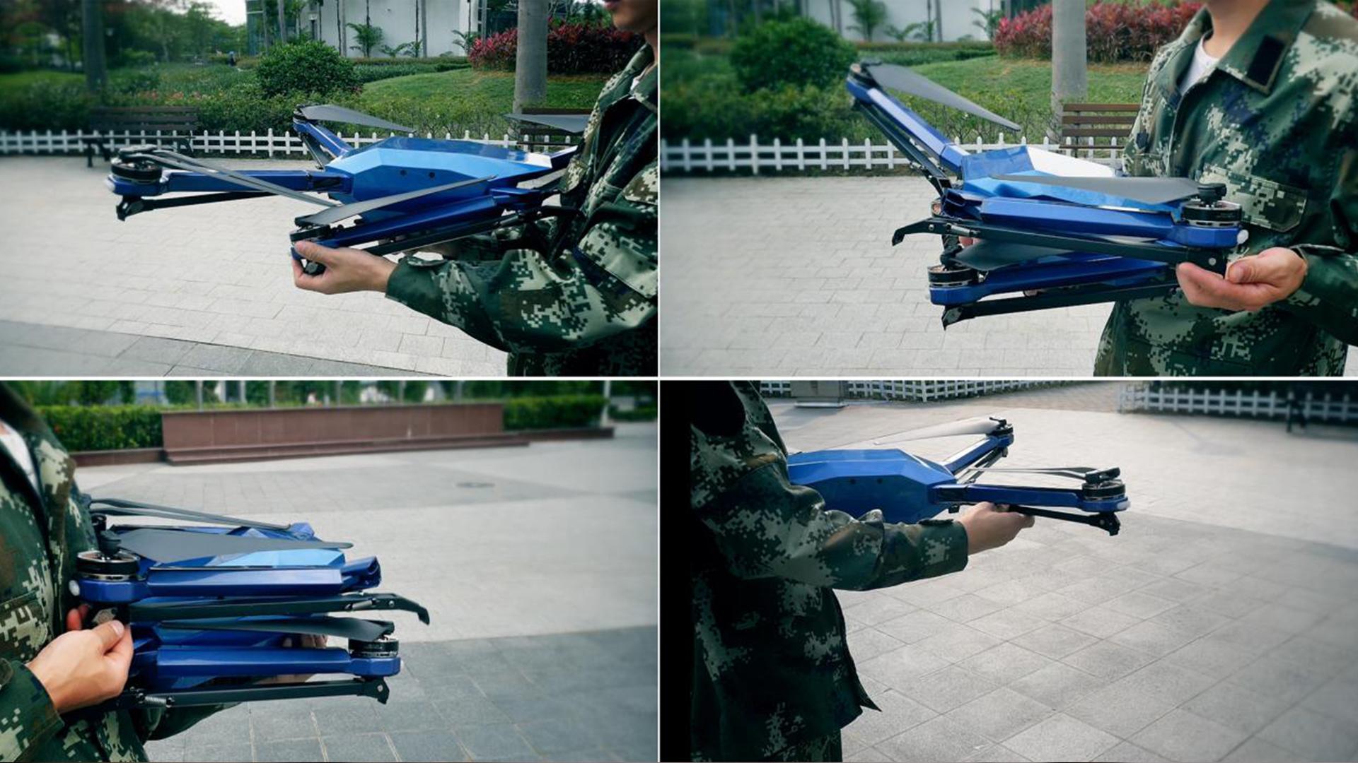 """智璟""""天珠C85""""工业无人机拆装有多快? 结果让你瞠目结舌(组图)"""