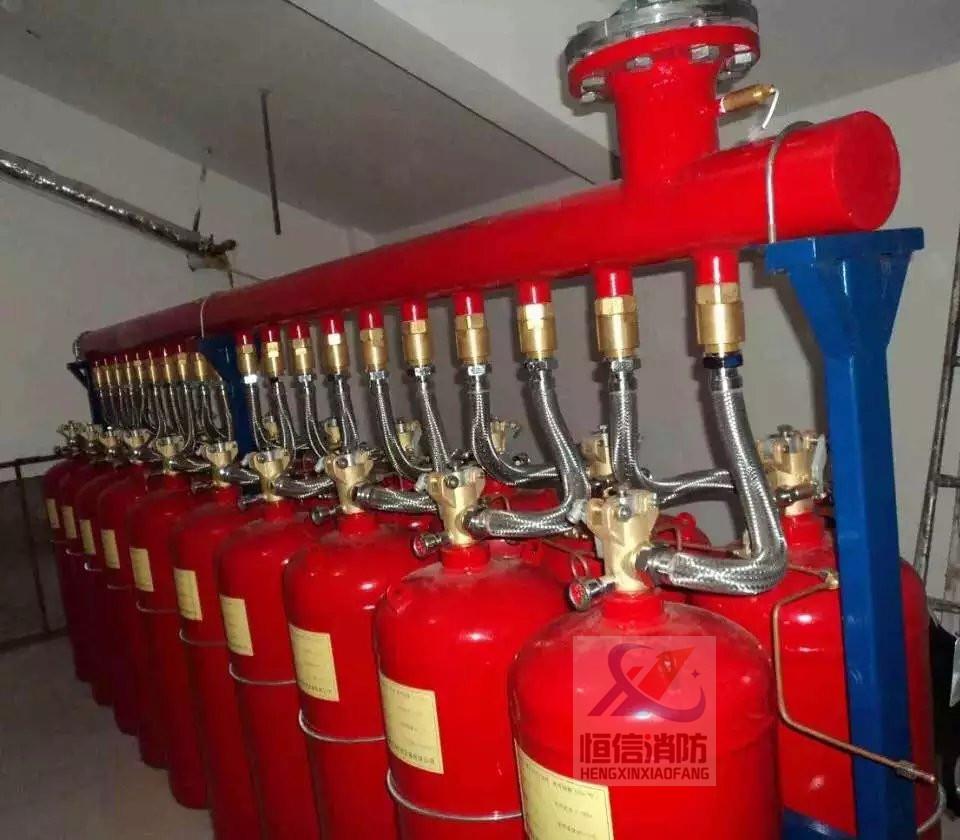 有管网七氟丙烷灭火系统