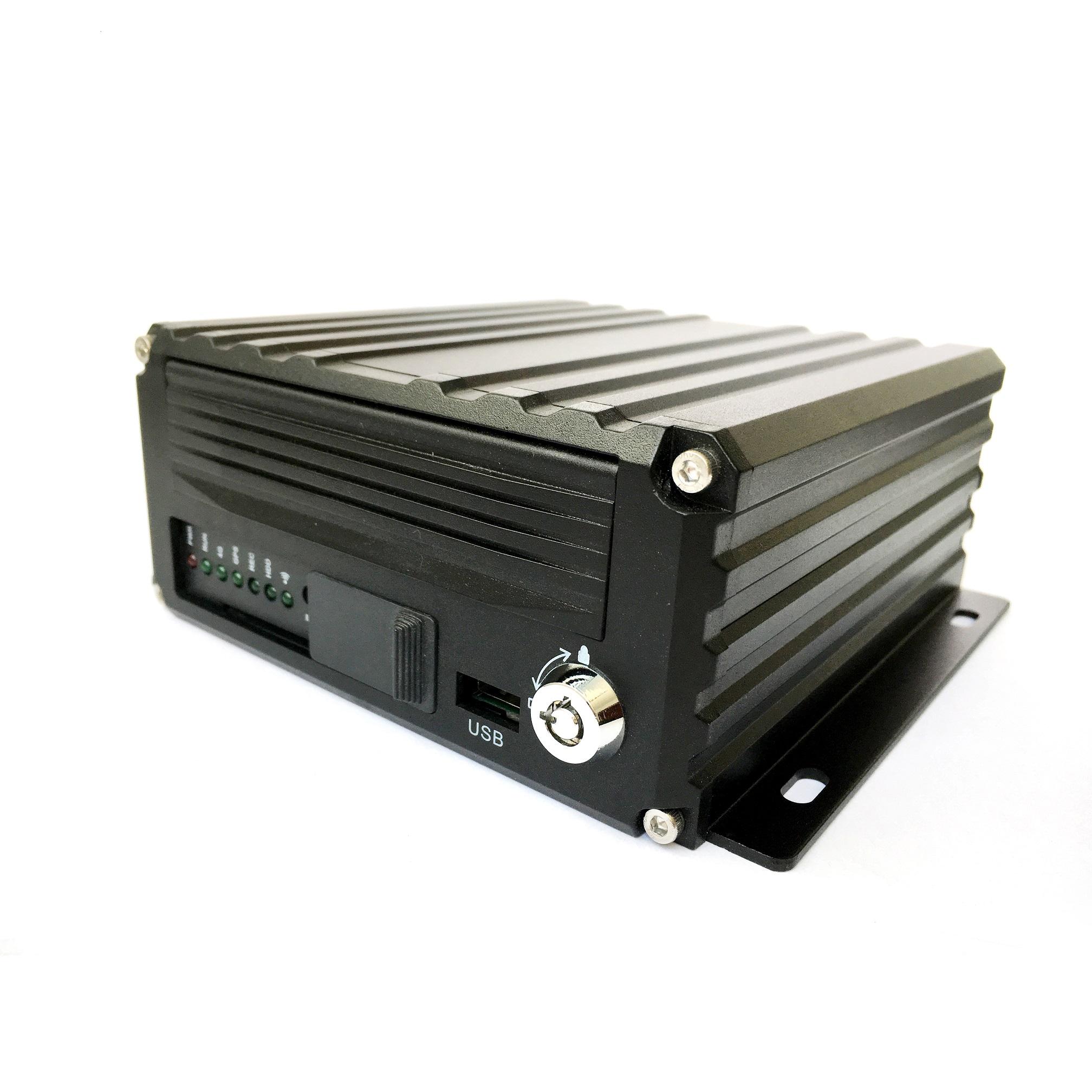 4G 8路1080P高清硬盘车载录像机