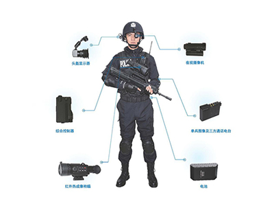数字化单兵作战侦查取证系统