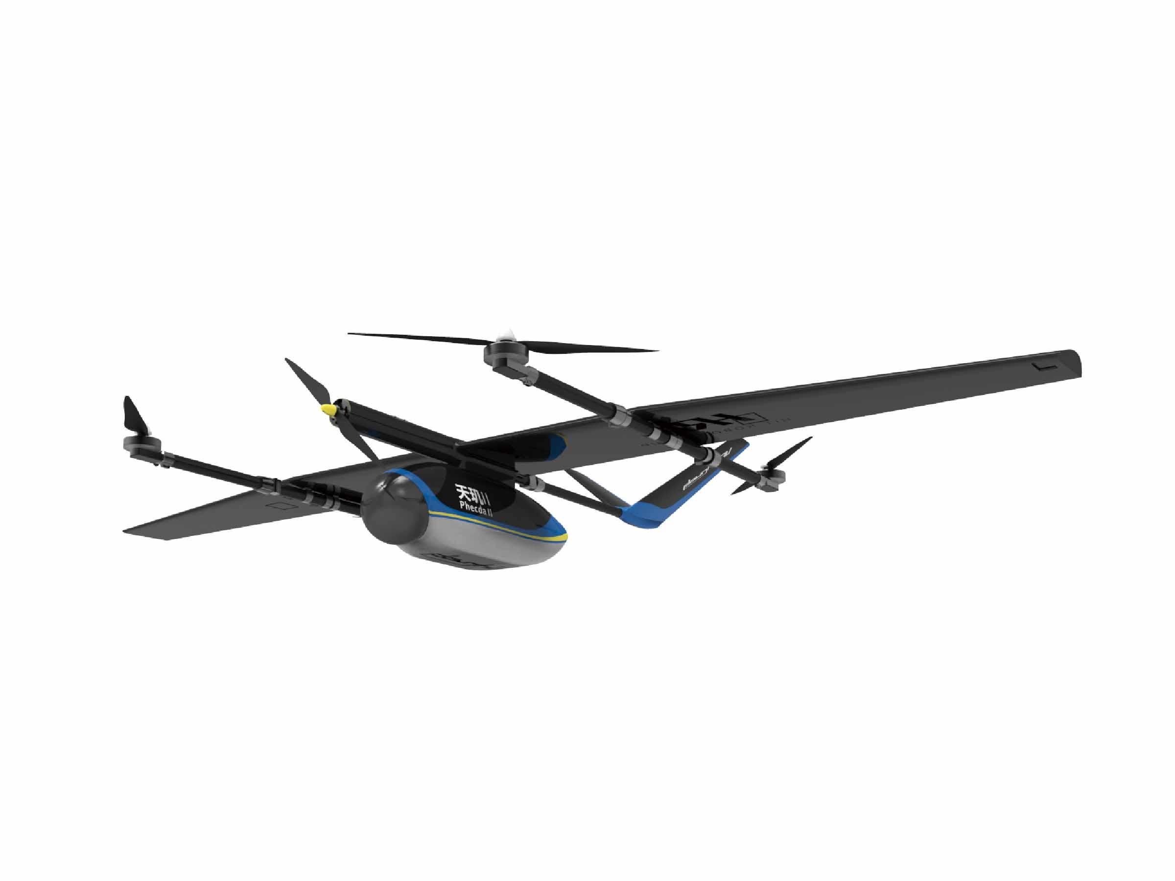垂直起降固定翼无人机——天玑II