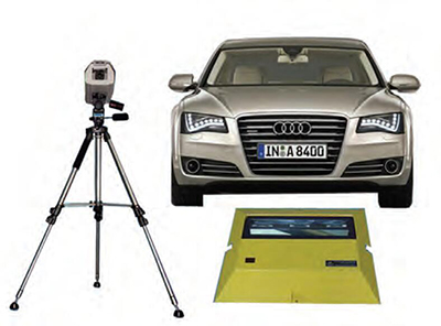 车底安全检查扫描系统