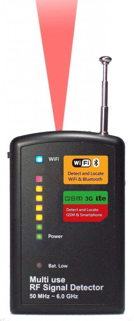 SH-055NRF多功能无线信号电波探测器