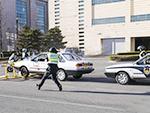 力度阻车器亮相公安大学车辆查控现场教学(附视频)
