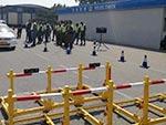 中国人民公安大学首次对外警开展警务驾驶车辆查控训练(组图)
