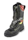 皮质灭火防护靴