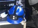 智极星4G头盔亮相国网达州供电公司年度应急演练!(组图)