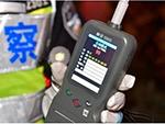 新品!北京交警启用新式酒精检测仪 三秒可看结果(组图)