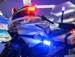 """交通违法""""天敌""""来了!摩托车执法取证系统,瞬间捕捉无遗漏!(组图)"""