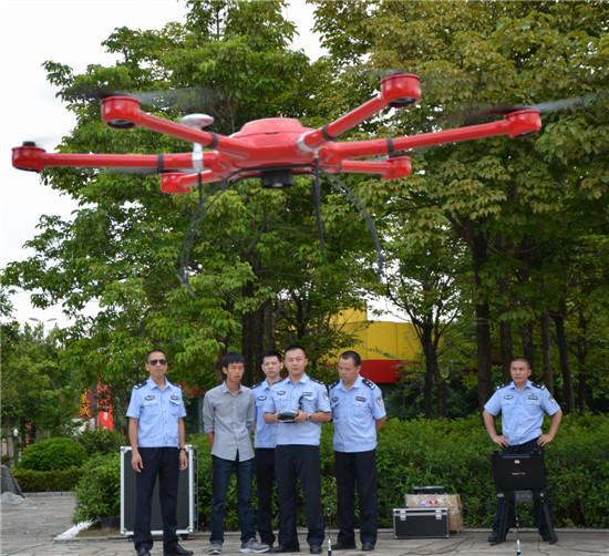 福建永定警方配备高性能警务实战无人机