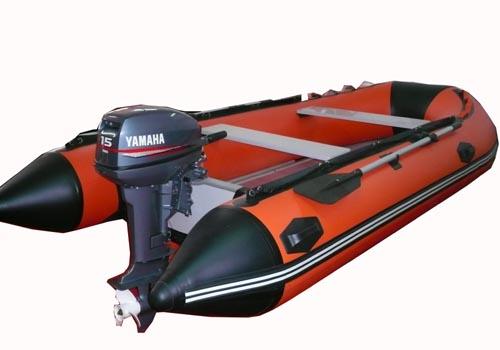 深桔红挂机艇