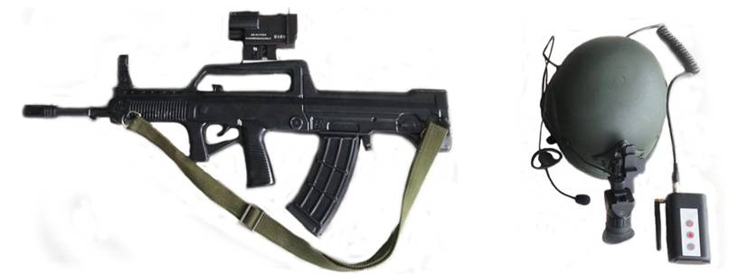 单兵无线视频昼夜瞄准系统