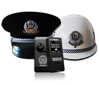 警帽式执法取证仪