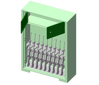 武器装备定位管理系统
