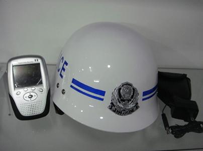 无线头盔现场取证仪