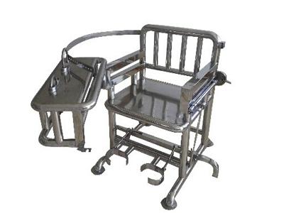不锈钢审讯椅