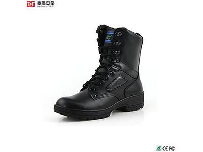 129A女军靴-春秋女鞋 真皮靴