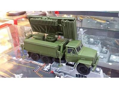 Q08型军绿色雷达车