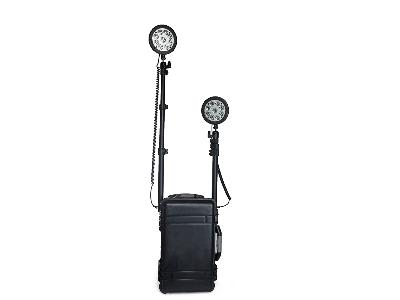 箱式应急照明系统,充电式移动照明灯