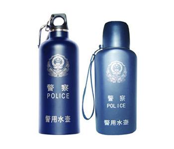 警用水壶,警用扁水壶,警用圆水壶