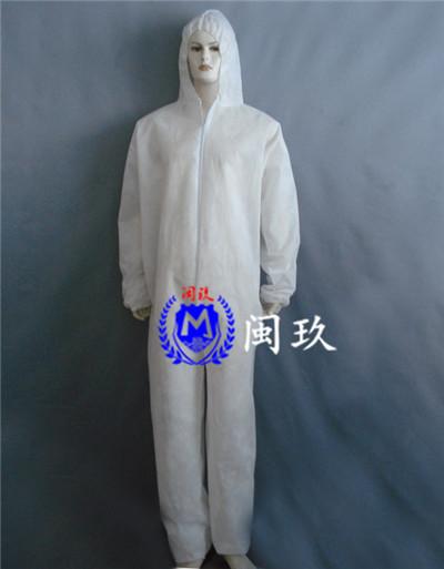 连体式一次性防护服