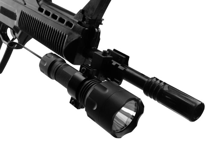 自动步枪战术照明灯